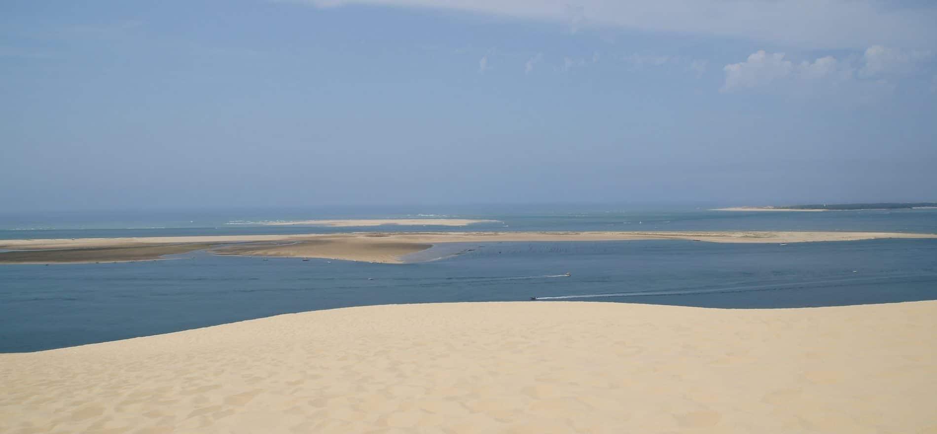 banc sable dune du pilat